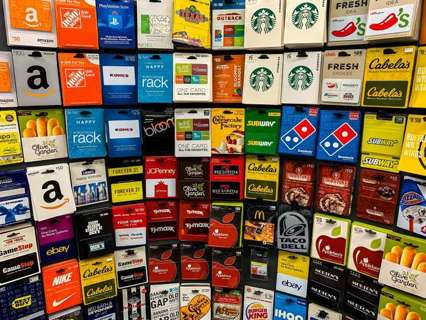 $25 Gift Card$$ OF YOUR CHOICE