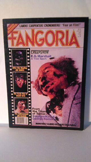 Fangoria Trading Card