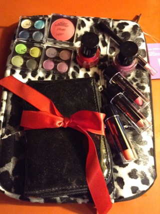 Makeup and 2 Piece Tablet Case With Purse Kit