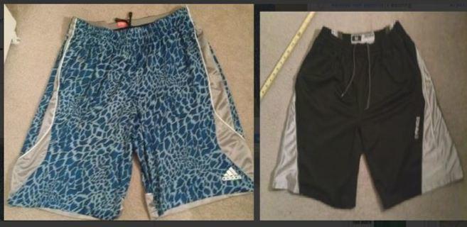 Basketball ball Shorts ADIDAS SHORTS & AND1 Shorts Athletic Shorts FREE SHIPPING