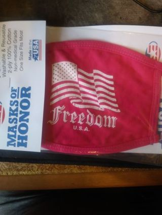 Freedom Mask Washable And Reusable