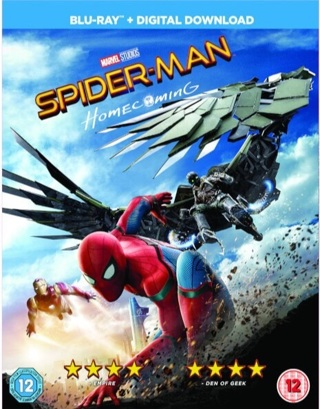 HDX Spiderman Homecoming Digital UV Copy