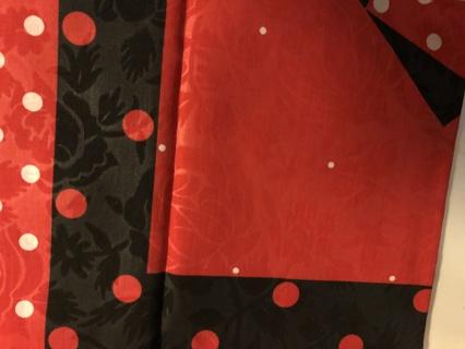 Black and Red Bandanna