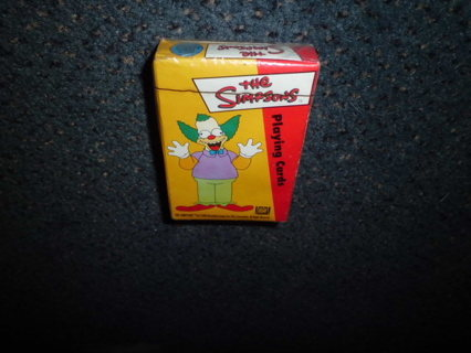 NIP 2000 FACTORY SEALED SIMPSONS PLAYING CARDS MINT FREE SHIPPING!