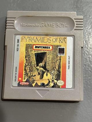 Vintage Nintendo Gameboy Pyramids OF RA Game