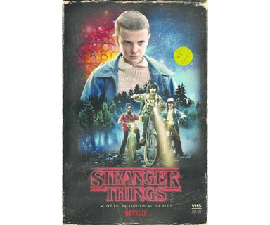 Stranger Things Season 1 Blu Ray + DVD Set & Collectible Poster