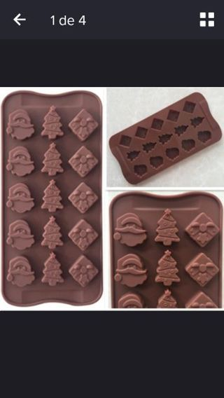 Cristmas silicone Chocolate Mold