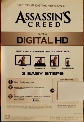 Assassin's Creed Digital Copy