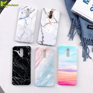 Huawei Mate 20 Lite Marble Case on for Coque Huawei Mate 20 Lite Mate 20 Pro Case Cover Luxury Sof