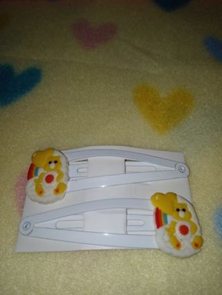 "❤✨❤✨❤BRAND NEW 2-PC.SET OF ""CARE BEAR"" HAIR CLIPS❤✨❤✨❤BY:MAYA"