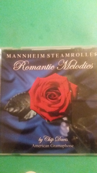 cd mannheim steamroller  romantic melodies  free shipping