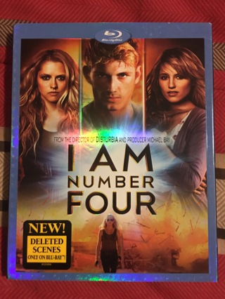 I Am Number 4 ( Brand NEW - Blu-ray DVD)