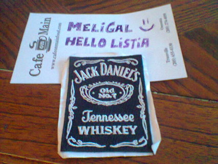 free jack daniels embroidered sticker patch stickers listia