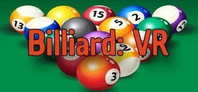 Billiard VR (STEAM GAME CODE)