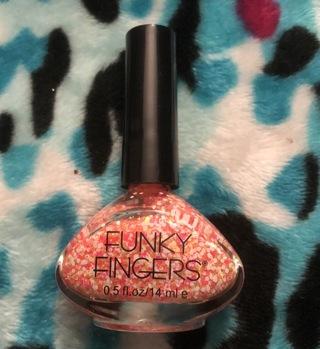 ~ Funky Fingers Nail Polish in Glitter Matters ~