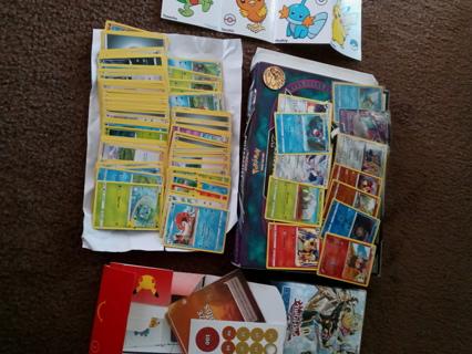 Pokemon Yu-Gi-Oh cards