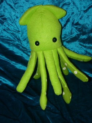 Free: Plush squid pdf pattern diy - Sewing - Listia.com Auctions for ...
