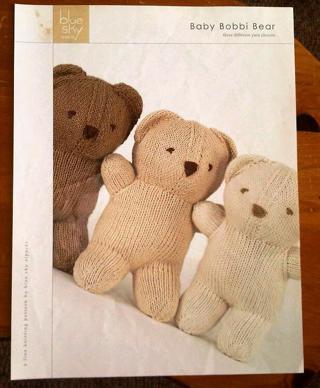 Free Baby Bobbi Bear Knitting Pattern Knitting Listia