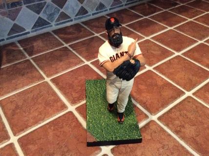 BRIAN WILSON MCFARLANE Action Figure MLB Series 30 SAN FRANCISCO GIANTS