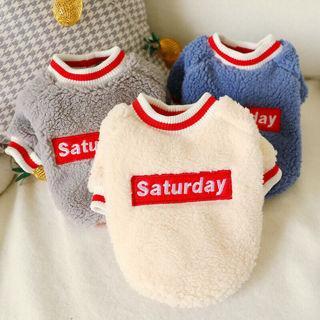 Pet Winter Jacket Puppy Sweater Fleece Coat Clothes Dog Fleece Sweater Warm