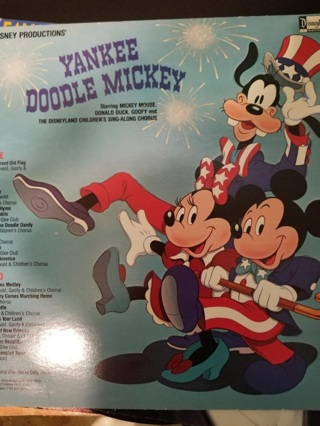 Walt Disney Productions YANKEE DOODLE MICKEY