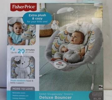 Fisher-Price Snugapuppy Dreams Deluxe Bouncer