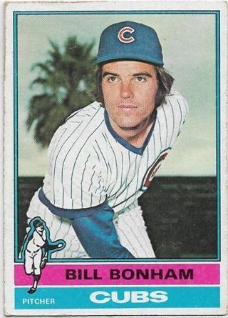 1976 TOPPS BILL BONHAM CARD