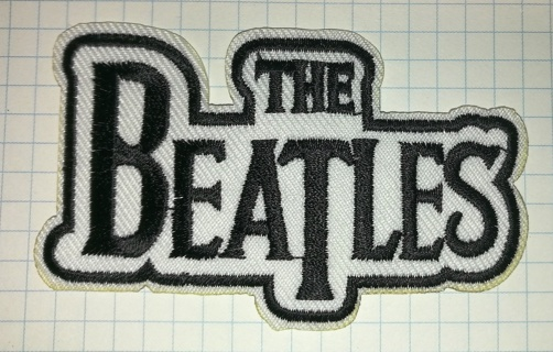 The Beatles Embroidered Cloth Iron On Patch