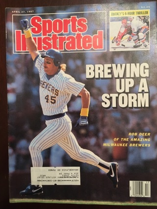 Vintage 1987 Sports Illustrated magazine