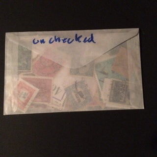 Big stamp lot , unchecked