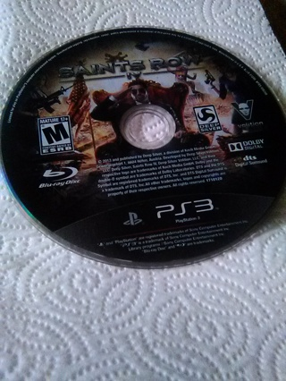 Saints Row 4 PS3 game
