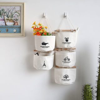 Wall Hanging Storage Bag Organizer Toys Container Wall Pouch Fashion