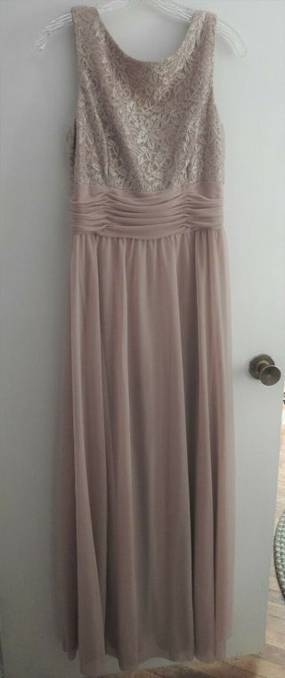 FREE SHIPPING Blush Pink, Jessica Howard Prom/Mother of the bride gown Size M 10