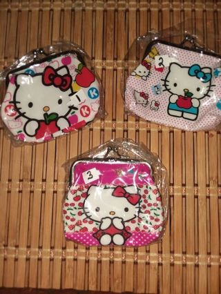 0114a18b5 FREE: Kawaii Sanrio Hello Kitty Clasp Coin Purses/Pick 1/Free Shipping And  Free Gift Included/lowered GIN