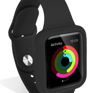 Apple Watch Smart Watch Silicone Sport Strap & Case Housing