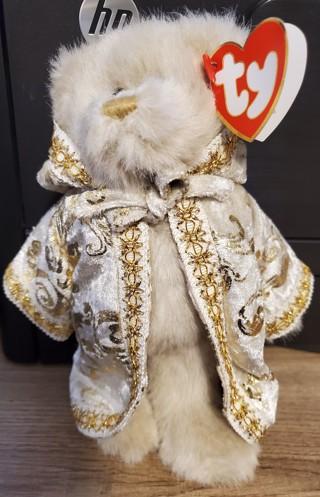 """NEW - TY Beanie Baby Bear - """"Gwyndolyn"""""""