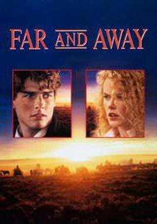 Far and Away Digital HD UltraViolet code Only VUDU UV from Blu Ray