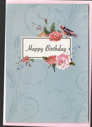 Birthday Card Unused With Envelope