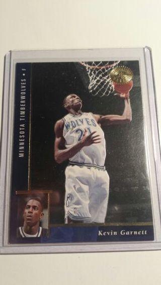 Kevin Garnett Rookie Card