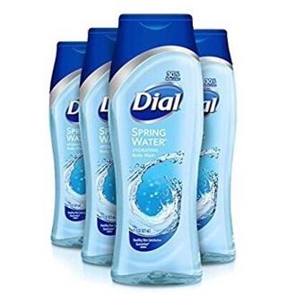 Dial body wash set of 4 21oz Each Bottle