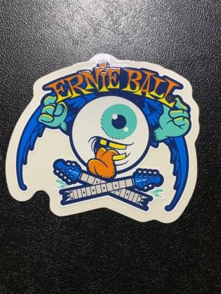 ***1 ~ ERNIE BALL - Eyeball Sticker/Decal