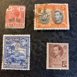 Grenada collectable stamps