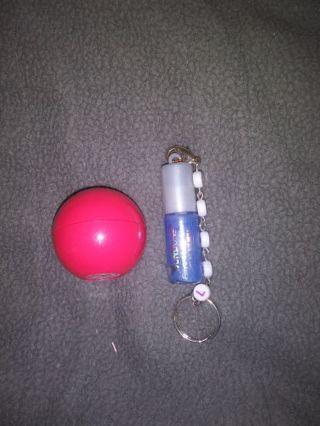 2 New lip balms