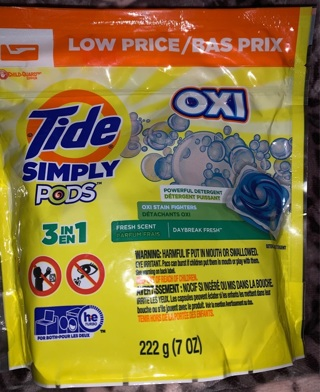Tide Simply Clean Laundry Pods 13