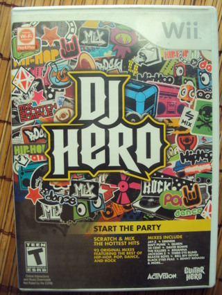 ~ DJ Hero by Wii in Very Good Condition (Guitar Hero)