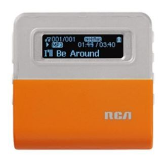 RCA MP3 PLAYER MUSIC AUDIO PLAYER & ACCESSORIES