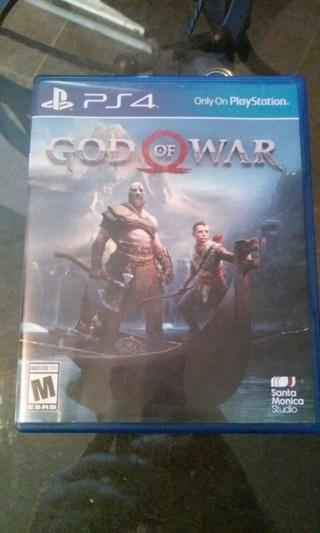 God of War PS4 (Sony Playstation 4, 2019) Like New