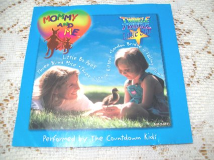 """Childrens """" Mommy And Me """" CD with Great Kid's Songs"""