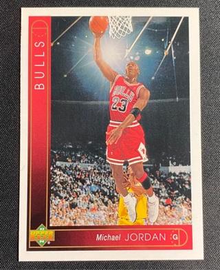 1993 Michael Jordan Upper Deck #23 HOF GOAT