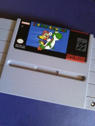 Nintendo Super Mario World for SNES